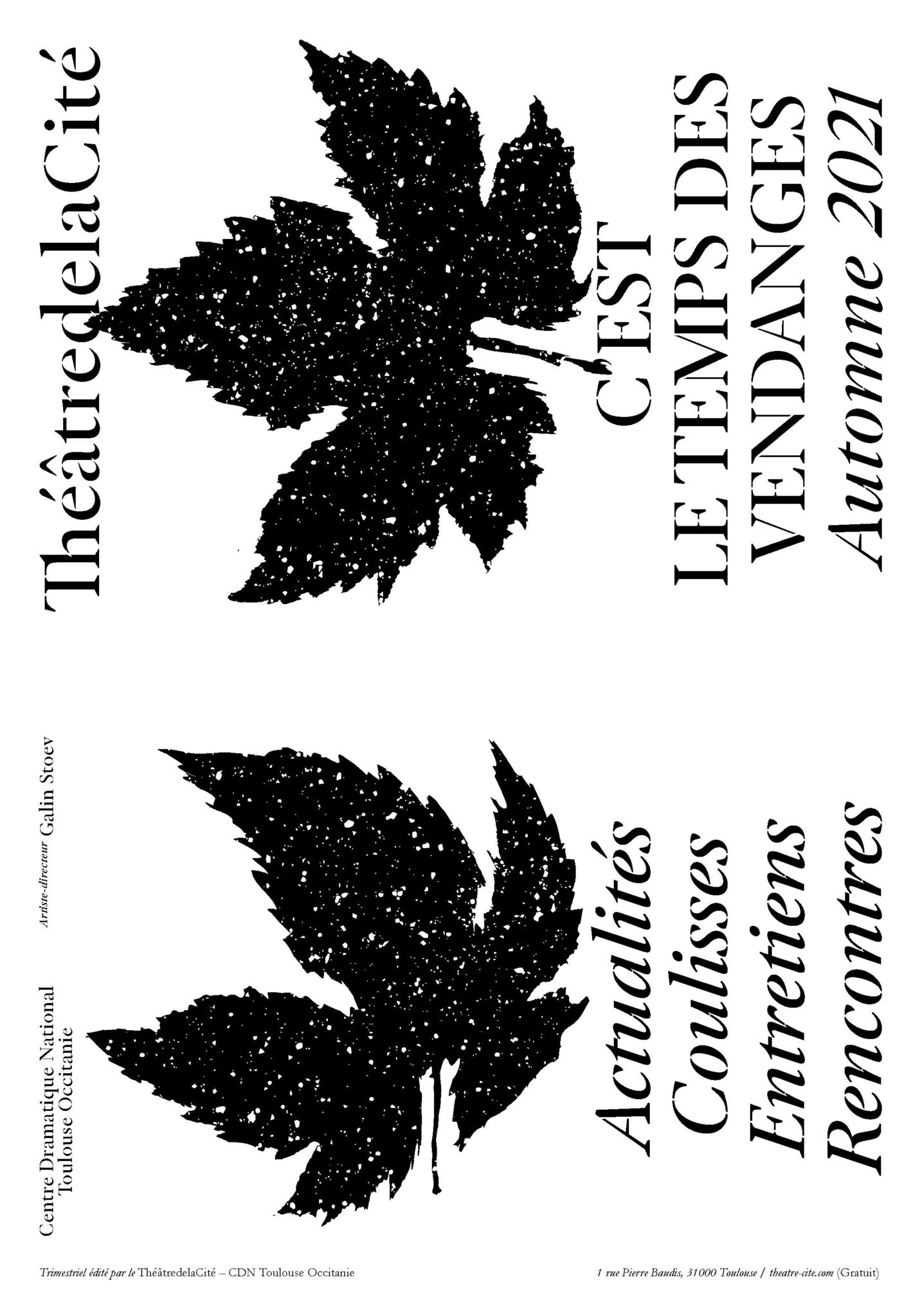 Journal trimestriel automne 2021